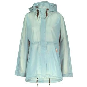 Hunter Vinyl Smock Woman Raincoat Porcelain Blue
